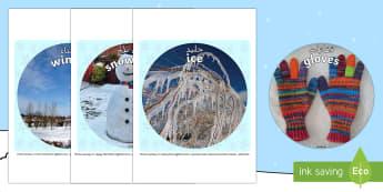 Winter Display Circle Photo Cut-Outs Arabic/English - Winter Display Circle Photo Cut Outs - winter, display, circle, photo, cut outs,winterdisplay,wnter,