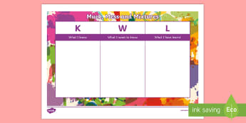 muck mess and mixtures KWL Grid - Muck Mess and Mixtures KWL Grid - science, topic, kwl, grid, know, learn, muck, mess, mixtures, lear