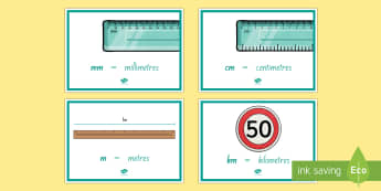 Length Abbreviation Display Posters - Maths, Length, Measurement, nz, new zealand, maths, moving