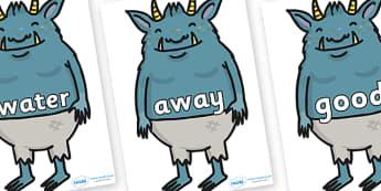 Next 200 Common Words on Trolls - Next 200 Common Words on  - DfES Letters and Sounds, Letters and Sounds, Letters and sounds words, Common words, 200 common words