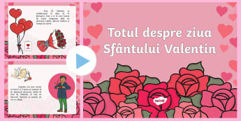 Totul despre Ziua Sfântului Valentin PowerPoint - valentin, ziua indragostitilor, dragobete, sentimente, prezentari, Romanian