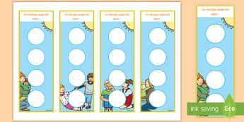 Marque-pages de récompense à autocollants : La gentillesse - altruisme, comportement, bienveillance, cycle 1, cycle 2