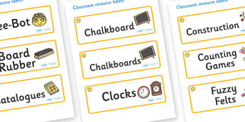 Sunshine Themed Editable Additional Classroom Resource Labels - Themed Label template, Resource Label, Name Labels, Editable Labels, Drawer Labels, KS1 Labels, Foundation Labels, Foundation Stage Labels, Teaching Labels, Resource Labels, Tray Labels,