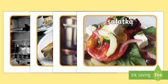 Plakaty ze zdjęciami Bar ze zdrową żywnością  - jedzenie, zdrowie, owoce, warzywa, jeść, barek, restauracja,Polish