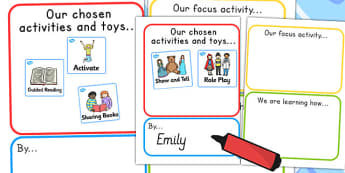Parent And Teacher Information About Our Learning Poster - info