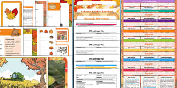 EYFS Autumn-Themed Planning and Resource Pack for 2 - 5 Year Olds - Early Years planning, plan, Foundation, continuous provision, enhancements adult led, topic planning