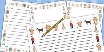 Page Borders to Support Teaching on Biscuit Bear - Biscuit, Bear, Word, Search, Wordsearch