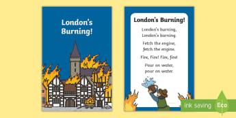 London's burning Nursery Rhyme IKEA Tolsby Frame - baby signing, baby sign language, communicate with baby, pre verbal baby, tiny talk, sing and sign,