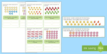 Number bonds to 20 Activity - Maths, Problems, Word Problems, KS1, Key Stage One, Scenario, Challenges, Stickers
