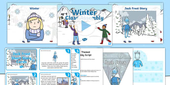 KS1 Winter-Themed Class Assembly Pack - Child led, Assembly Ideas, Jack Frost, Seasons, Polar Regions