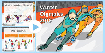 KS1 Winter Olympics Assembly  PowerPoint - winter, olympics, sport, Pyeongchang, 2018