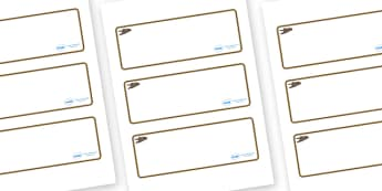 Swift Themed Editable Drawer-Peg-Name Labels (Blank) - Themed Classroom Label Templates, Resource Labels, Name Labels, Editable Labels, Drawer Labels, Coat Peg Labels, Peg Label, KS1 Labels, Foundation Labels, Foundation Stage Labels, Teaching Labels