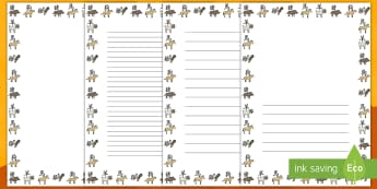 Chinese New Year Animal Symbol Page Border Pack - Chinese New Year, page borders, writing, China, final draft, work on writing, writers workshop, soci