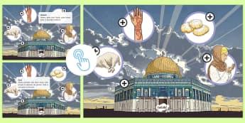 Eid Al-Adha Picture Hotspots - Islam, Muslim, celebration, festival, KS2, Twinkl Go, twinkl go, TwinklGo, twinklgo