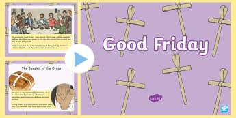 Why is Good Friday Called Good Friday? - good Friday, Jesus, Easter, cross, crucified,