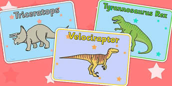 Dinosaur Themed Group Signs - dinosaurs, signs, labels, history