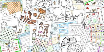 Wet Play Complete Resource Pack - activities, indoor activity, pack