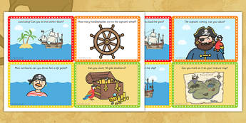 Challenge Cards Pirate Ship - challenge, cards, pirate, ship