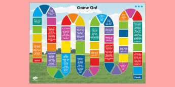 Three-Digit Numbers and Tens Word Problem Board Game - Addition and Subtraction, Add, more, plus, and, altogether, total, equal to, equals, count on, subtr