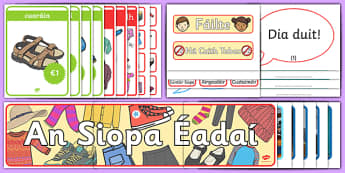 The Clothes Shop Display Pack Gaeilge