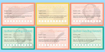 Incentive Stamp Cards Pack - incentive, stamp, cards, pack, incentive stamp