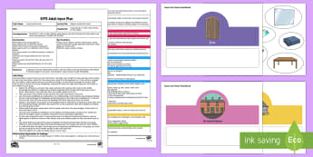 EYFS Objects around the Home Adult Input Plan and Resource Pack - EYFS Houses and Homes, my environment, house type, homes, different homes, culture, background, livi