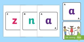 Bee Bot Alphabet Mat - bee bot activities, a-z mat, visual aids