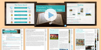 Traveller's Tales: Exploring 21st Century Traveller's Tales - traveller's, tales, travel, writing, travel writing, reading, AO3, Assessment Objective 3, compare,