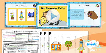 Computing: Computer Skills: Using Our Computer Skills Year 1 Lesson Pack 6