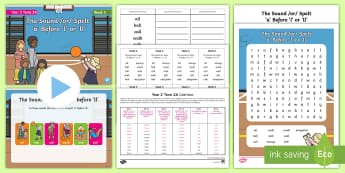 Year 2 Term 2A Week 5 Spelling Pack - Spelling Lists, Word Lists, Spring Term, List Pack, SPaG