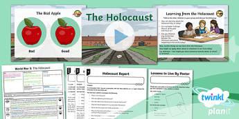 History: World War II: The Holocaust UKS2 Lesson Pack 5