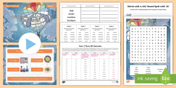 Year 3 Term 2B Week 5 Spelling Pack - Spelling Lists, Word Lists, Spring Term, List Pack, SPaG