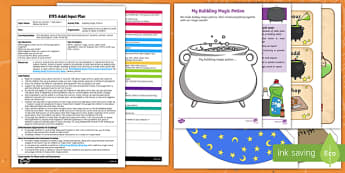 EYFS Bubbling Magic Potions Adult Input Plan and Resource Pack