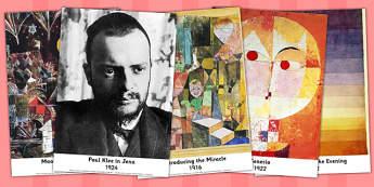 Paul Klee Photo Pack - Paul, Klee, Photo, Pack, Art, Photos