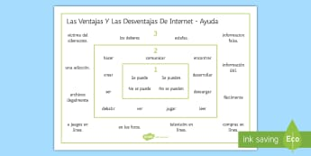 New Technologies:  Building Sentences Word Mat Spanish - KS4, Spanish, New Technologies, everyday, life, ordenador, movil, teléfono, tableta, portatil, vide