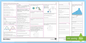 AQA Trilogy Biology Unit 4.6: Inheritance, Variation and Evolution Foundation Revision Activity Mat  - reproduction, meiosis, evolution, variation, genetics, fossils, punnet square, inheritance