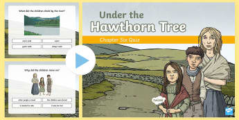 Chapter Six Quiz PowerPoint to Support Teaching on Under the Hawthorn Tree - Resources to Support The Teaching Of Under the Hawthorn Tree, quiz, under the hawthorn tree, stories