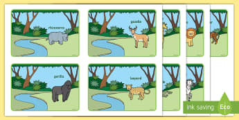 Story Sequencing (4 per A4) to Support Teaching on Rumble in the Jungle - Story, book, sequencing, visual aids, resources, Giles Andreae, David Wojtowycz, story sequencing, teaching resources, book resources, jungle creatures, jungle, book resource
