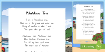 Pōhutakawa Tree Song - Xmas, Christmas, Songs, NZ Xmas, Mat time,