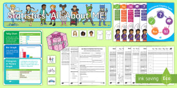 All About Us Statistics Level 1 Unit Pack-Australia - NZ Statistics (Back to School),Australia