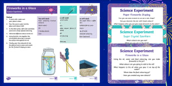 EYFS Bonfire Night Science Experiments Resource Pack