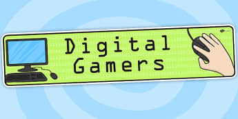 Digital Gamers Topic Display Banner - ipc, banner, display