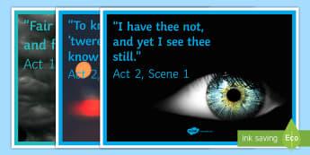 Macbeth Key Quotations Photo-Based Display Pack - Macbeth display, Macbeth, Macbeth quotes, Macbeth quotations, Key quotations, Macbeth GCSE, KS4 Disp