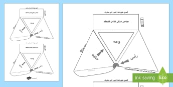 عناصر شكل ثلاثي الأبعاد - الأشكال، شكل ثلاثي، أشكال ثلاثية أبعاد، هندسة، رياضيا