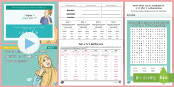 Year 6 Term 2A Week 3 Spelling Pack - Spelling Lists, Word Lists, Spring Term, List Pack, SPaG