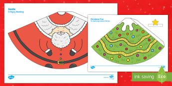Christmas Cone People Worksheet / Activity Sheet English/Greek - worksheet, Christmas Cone People - christmas, cone people, crafts, art, game, chritmas, chriatmas, c
