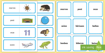 Cartes de nomenclature avec autocorrection : Le son [on] - lecture, reading, sons, sons complexes, son on, cycle 2, GS, CP, CE1, CE2, orthographe, spelling,Fre