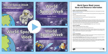 World Space Week Lesson Pack