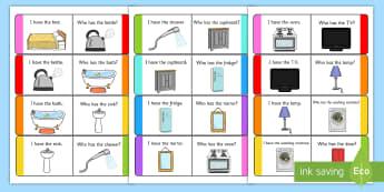 Home Loop Cards - home, loop cards, loop, cards, activity, house