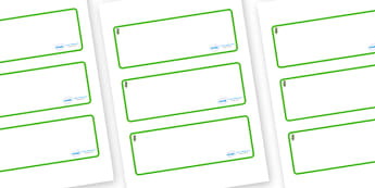 Hawthorn Themed Editable Drawer-Peg-Name Labels (Blank) - Themed Classroom Label Templates, Resource Labels, Name Labels, Editable Labels, Drawer Labels, Coat Peg Labels, Peg Label, KS1 Labels, Foundation Labels, Foundation Stage Labels, Teaching Lab